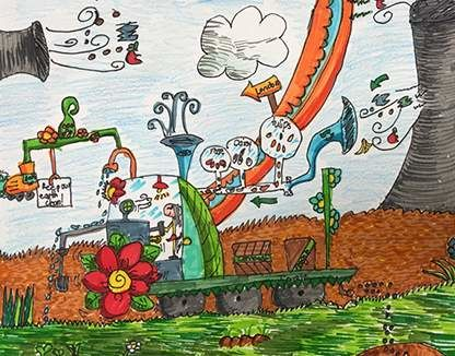 The Planting & Cleaning Air Car (Nancy, 7)