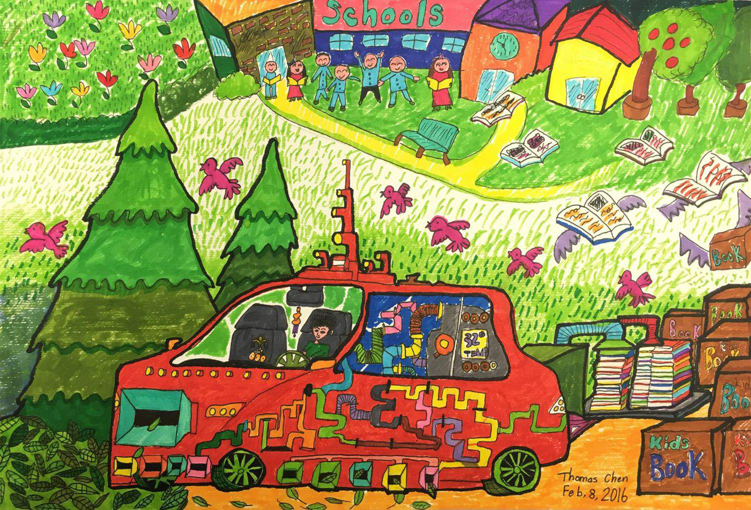 Dream Car Art Contest Toyota Canada