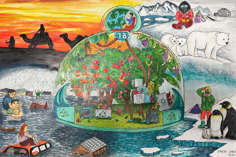 L'oasis mobile (Zhiyu, 13 ans)