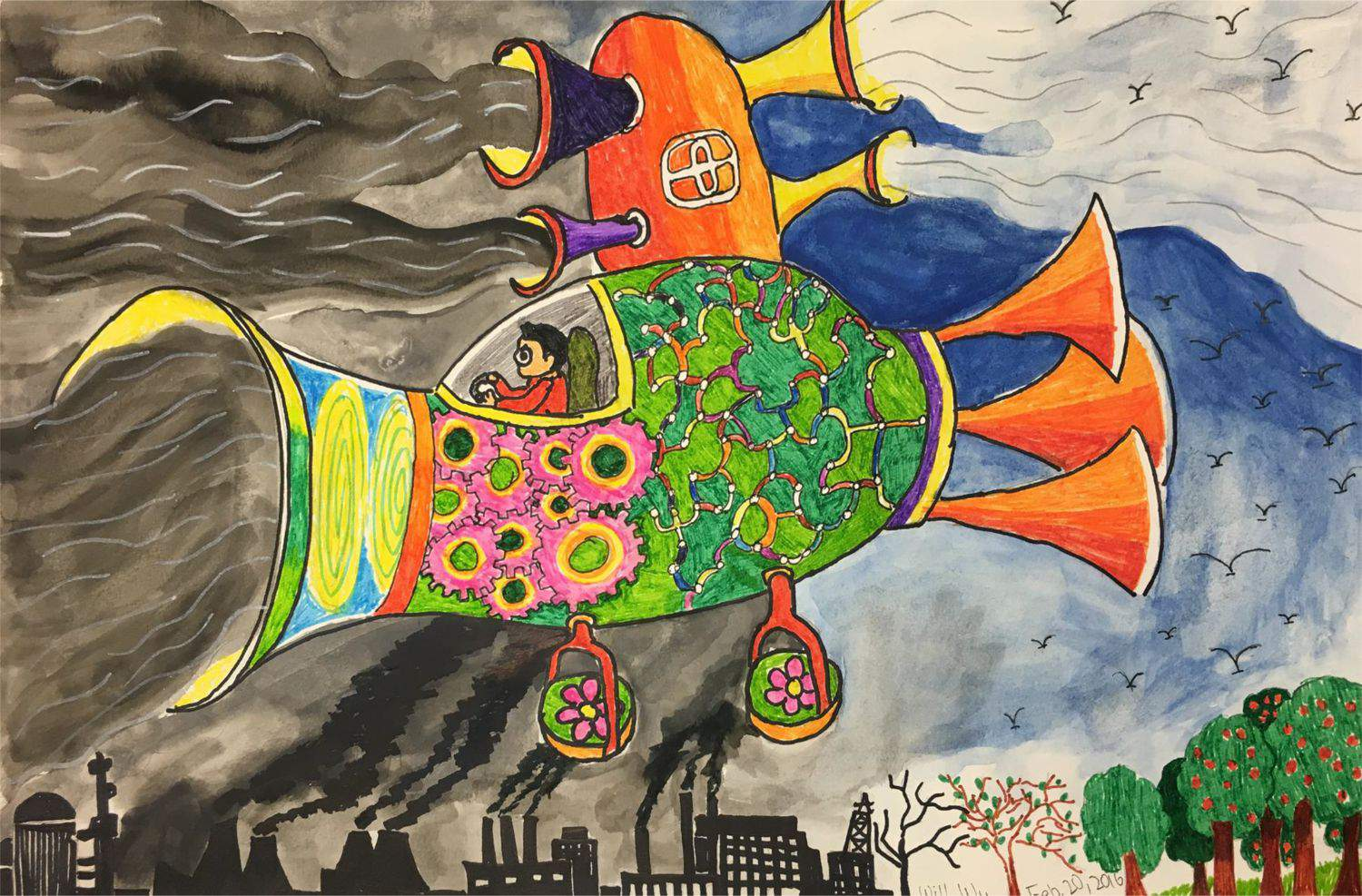 Clean Air for Everyone! by Will(age9)