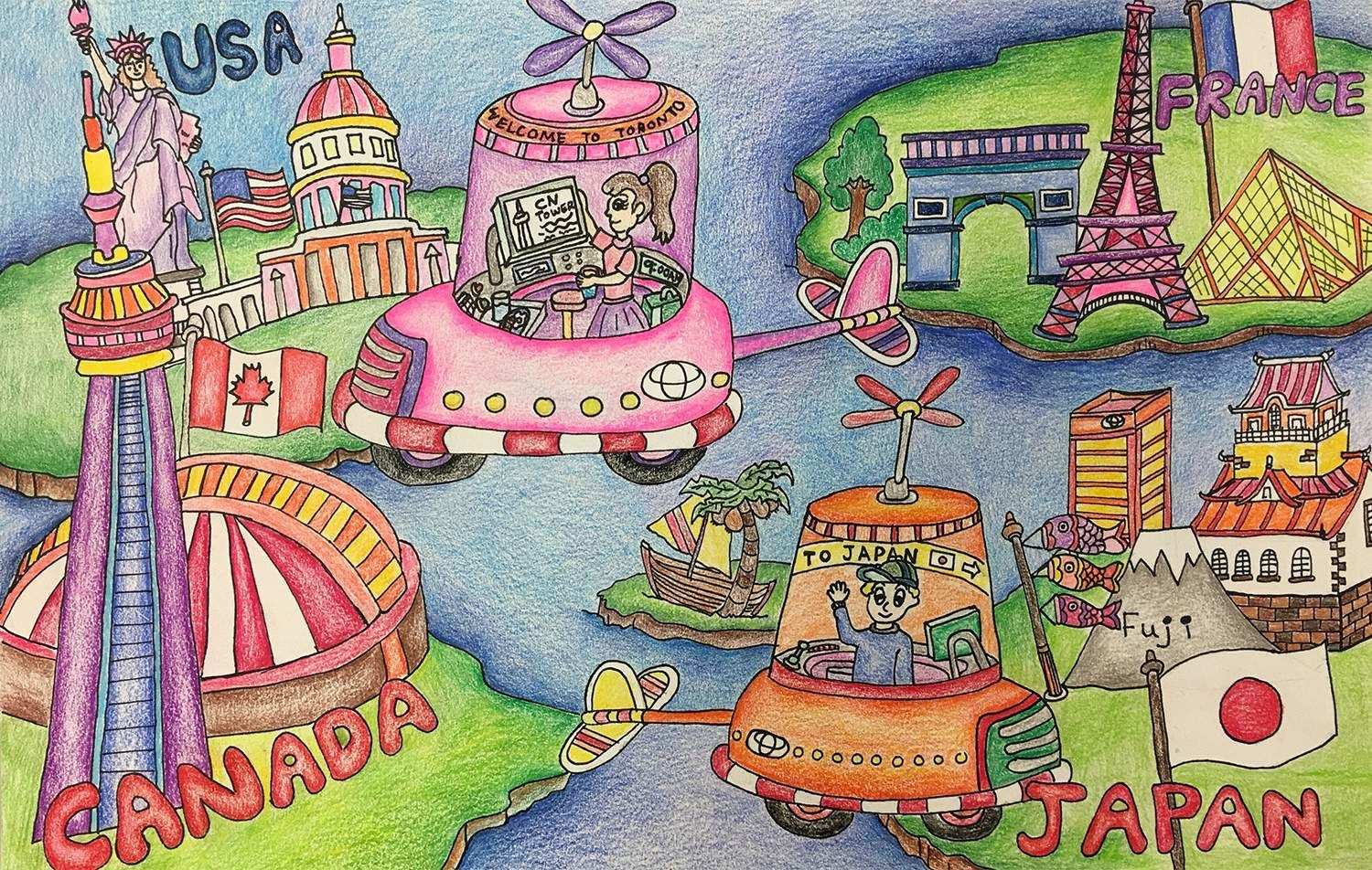Personal Traveling Car - Liana Dong, age 9