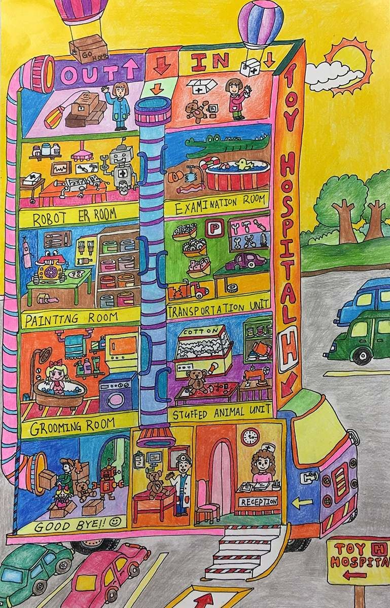 Toy Hospital - Aiden Lau, age 7