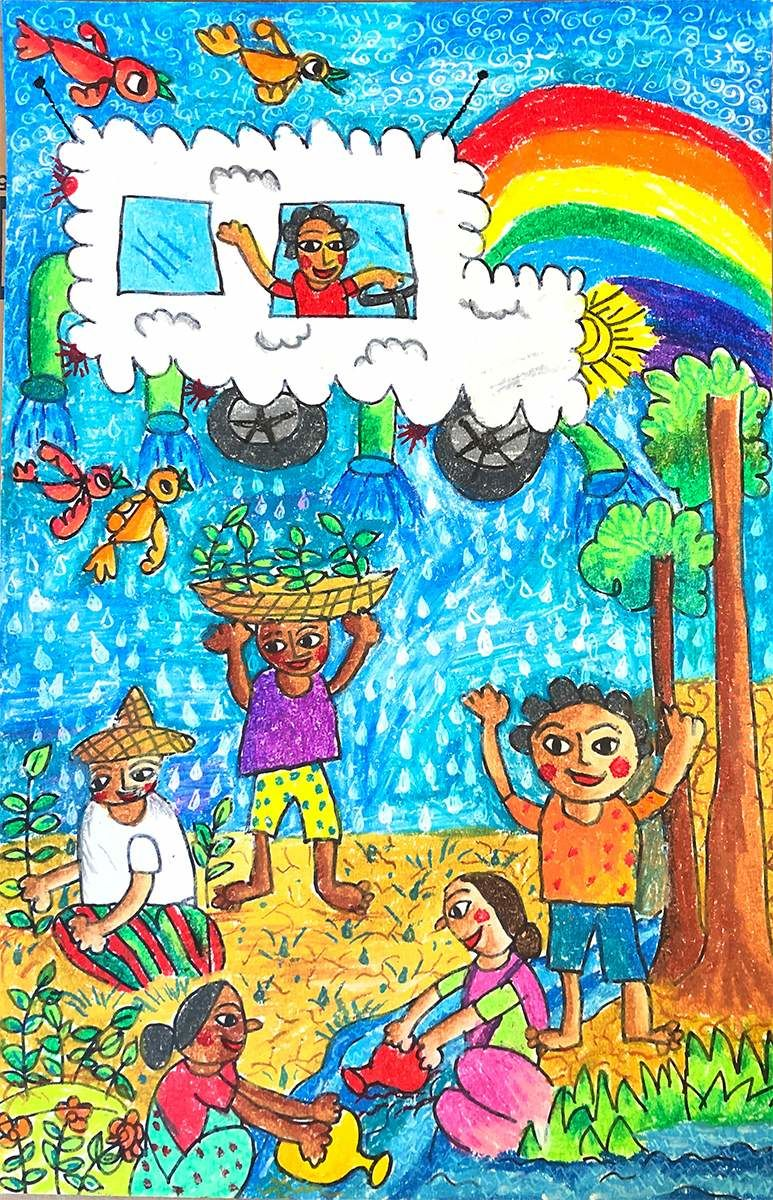My Rain Car Abraham Pramanik, age 7