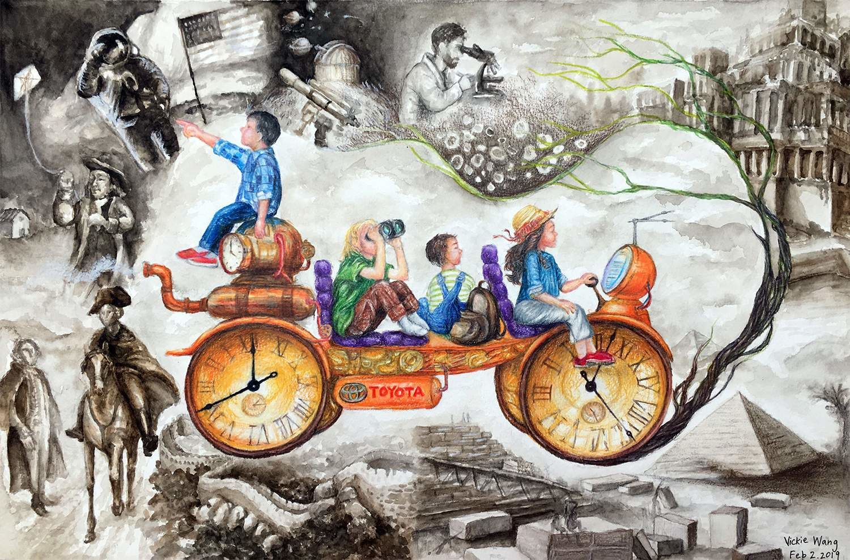 Time Traveler Vickie Wang, 13 ans