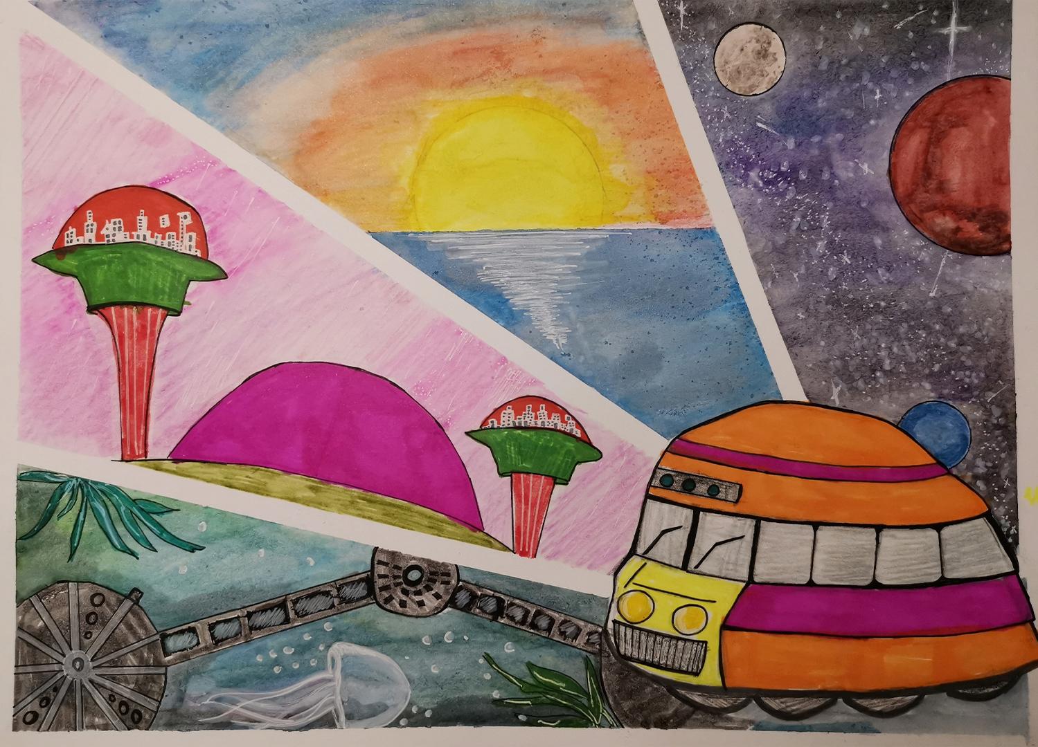 Magic School Bus, Maya Maksymenko, age 5