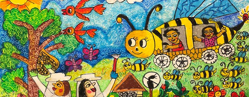My Bee Car, Abraham Pramanik, 8 ans