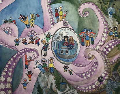 Tentacles of Hope, Isabella Pan, age 14