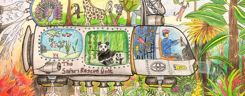 Safari Rescue Unit, Thomas Qui, age 11