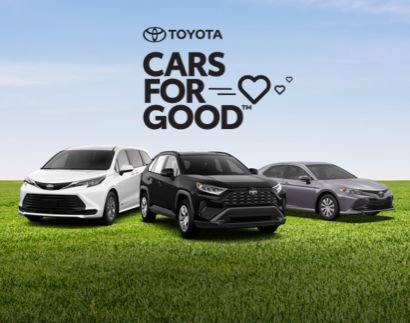 Toyota Cars For GoodTM