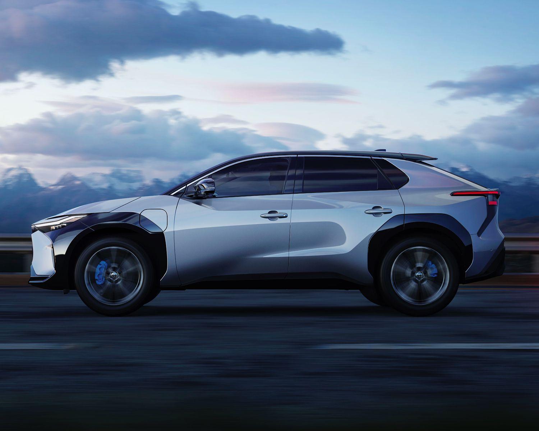 Concept de véhicule électrique à batterie Toyota bZ4X