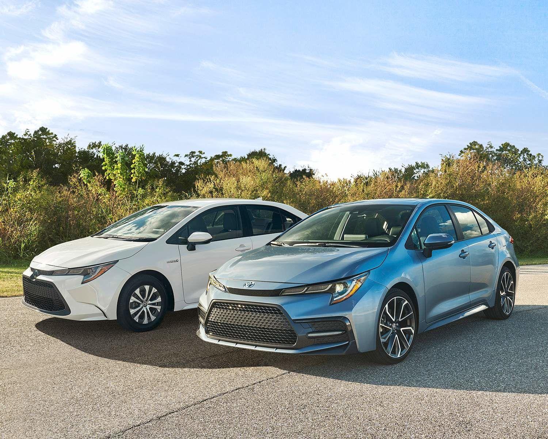 2020 Corolla & Corolla Hybrid