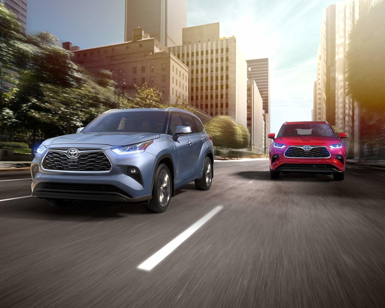 Toyota Highlander and Highlander Hybrid