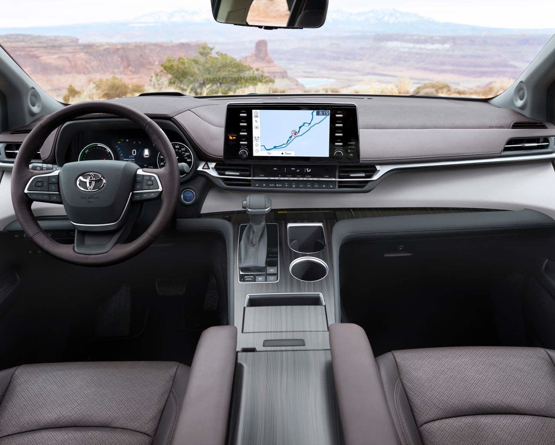 2021 Toyota Sienna Platinum Interior