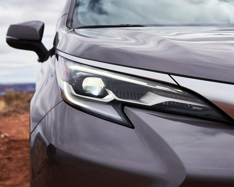 2021 Toyota Sienna Platinum Exterior
