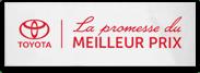LA PROMESSE DU MEILLEUR PRIX