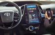 Prius Prime groupe Technologie avec Apple CarPlay