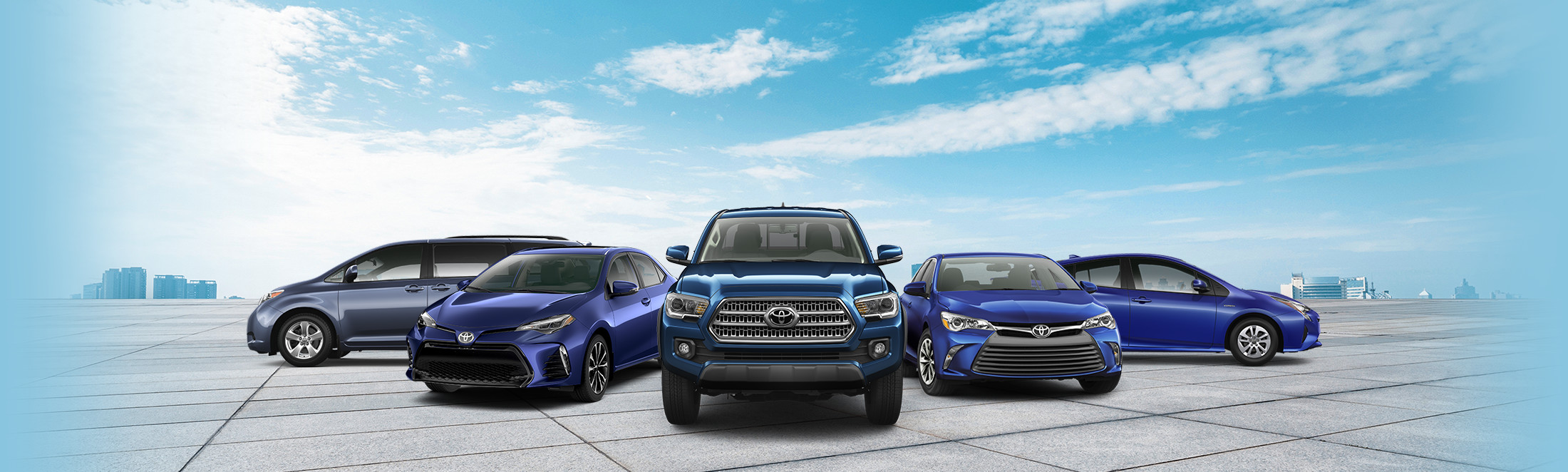Un parc Toyota pour votre entreprise