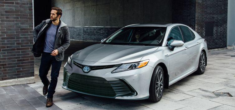 2021 Toyota Camry LE Celestial Silver Metallic
