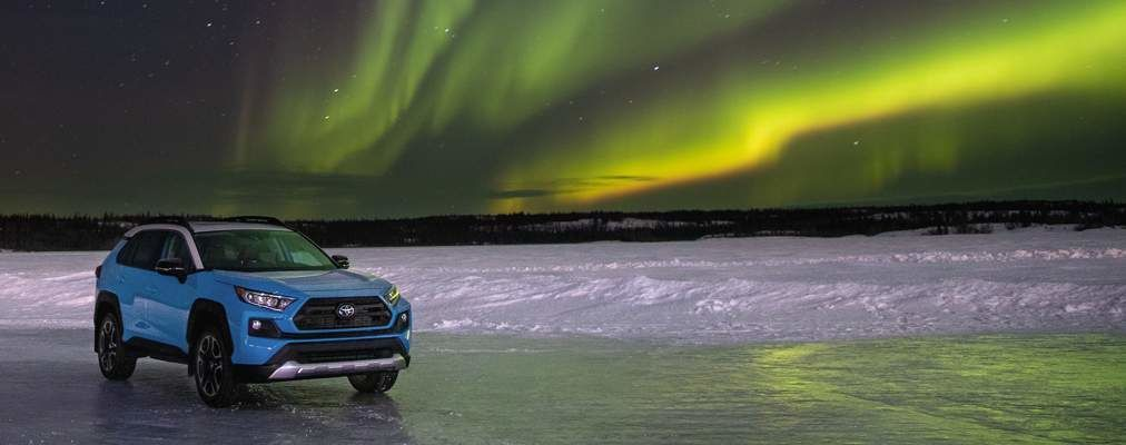 RAV4 Trail in Yellowknife, Northwest Territories