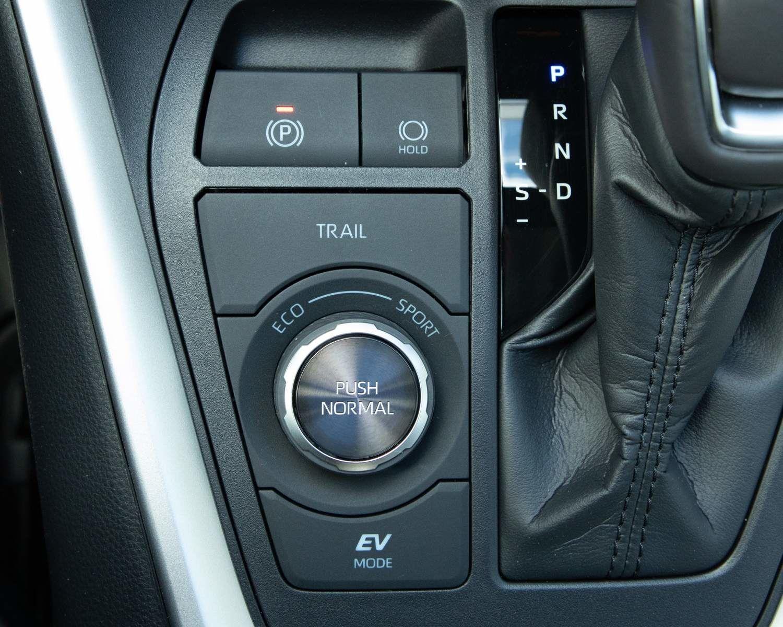 RAV4 Hybrid Limited drive modes