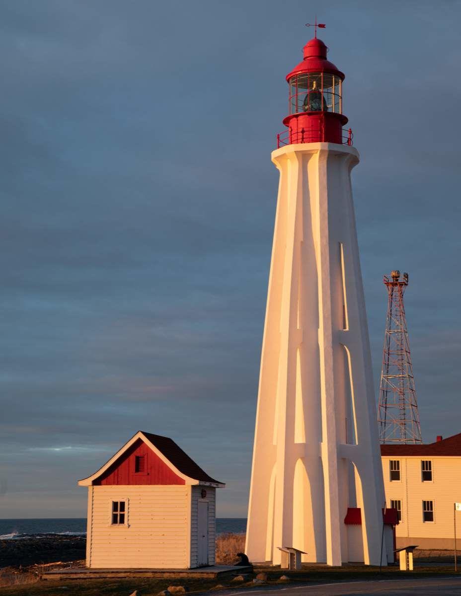 Phare de Pointe-au-Père à Rimouski, au Québec