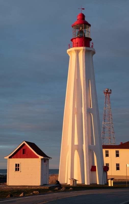 Pointe-au-Père Lighthouse in Rimouski, Quebec