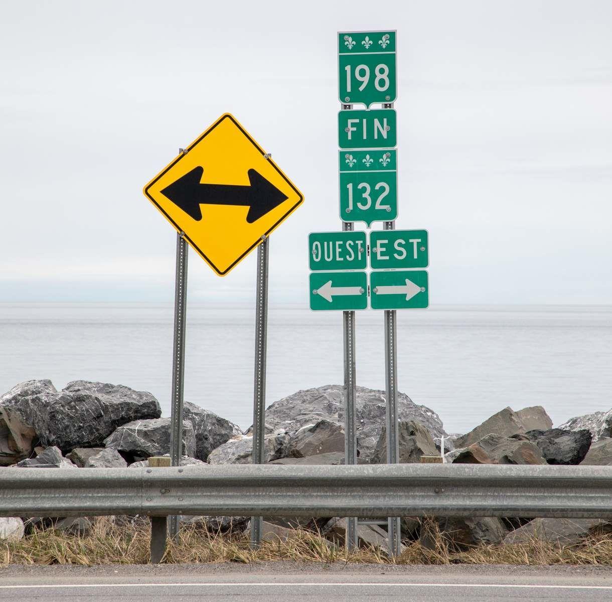 Route 132 au Québec