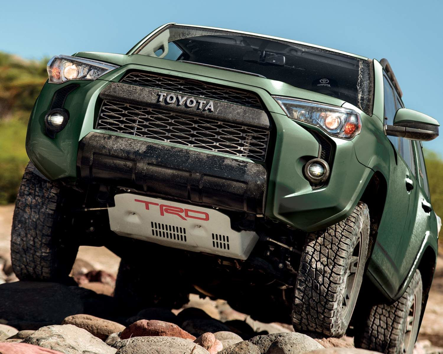 4Runner TRD Pro Package shown in Army Green