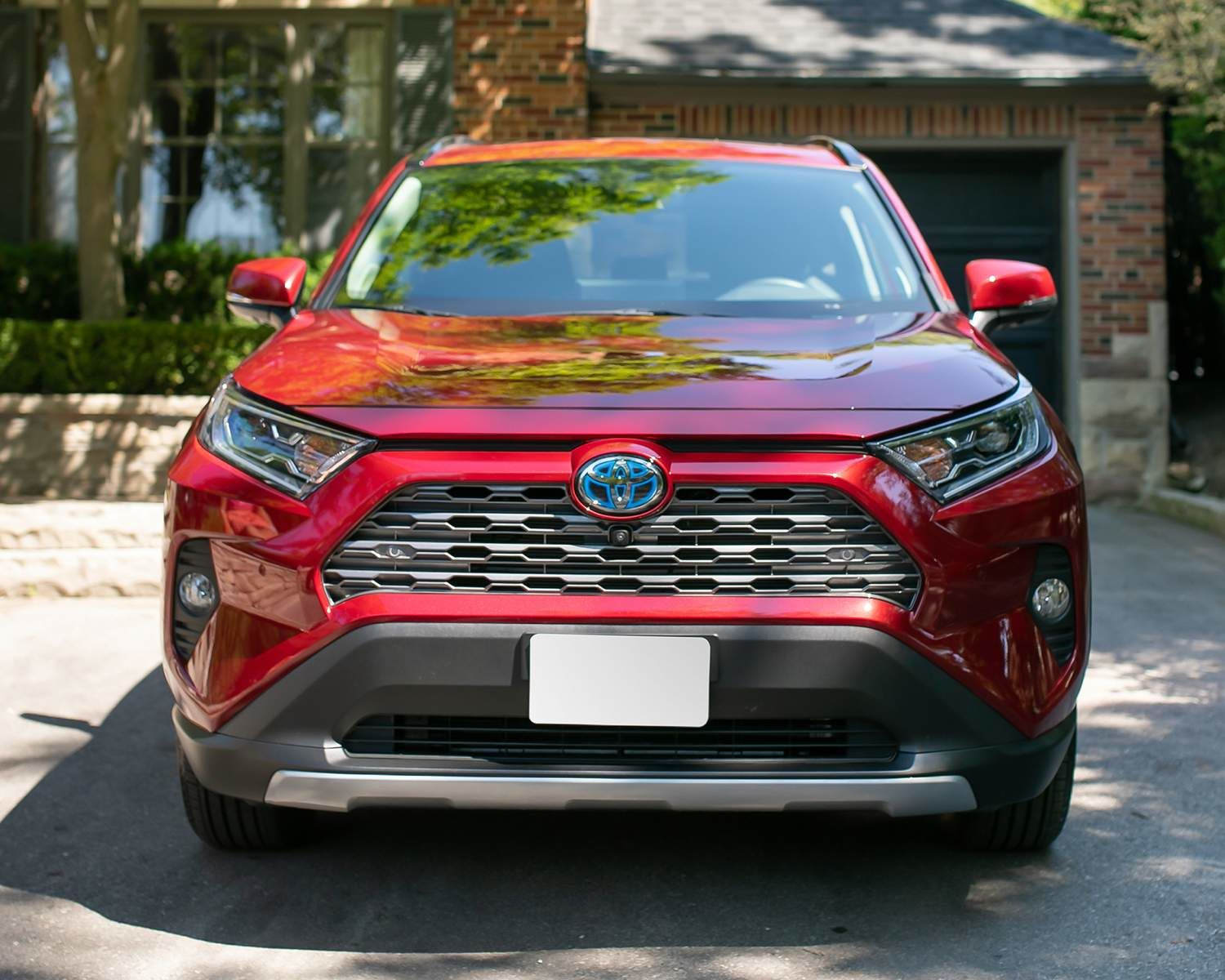 RAV4 LE AWD shown in Ruby Flare Red