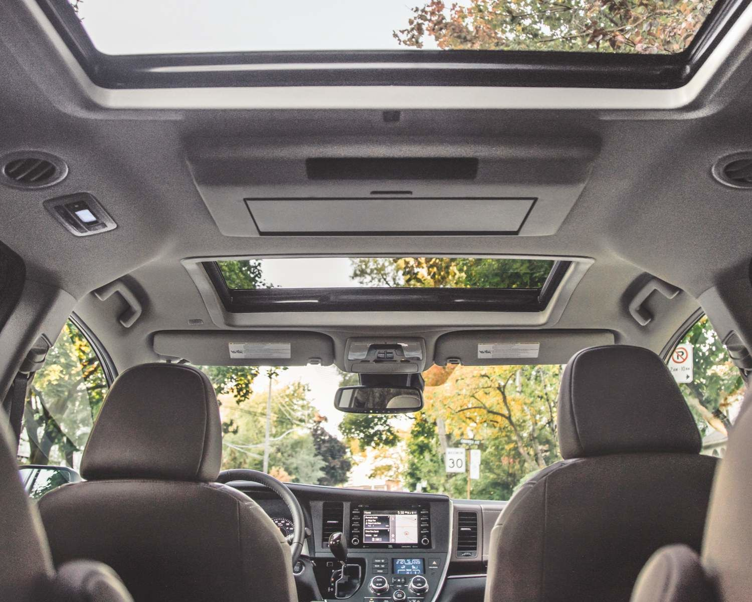 Sienna Interior and Moonroof