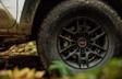 Roue en alliage noir de 16 po du Tacoma TRD Pro