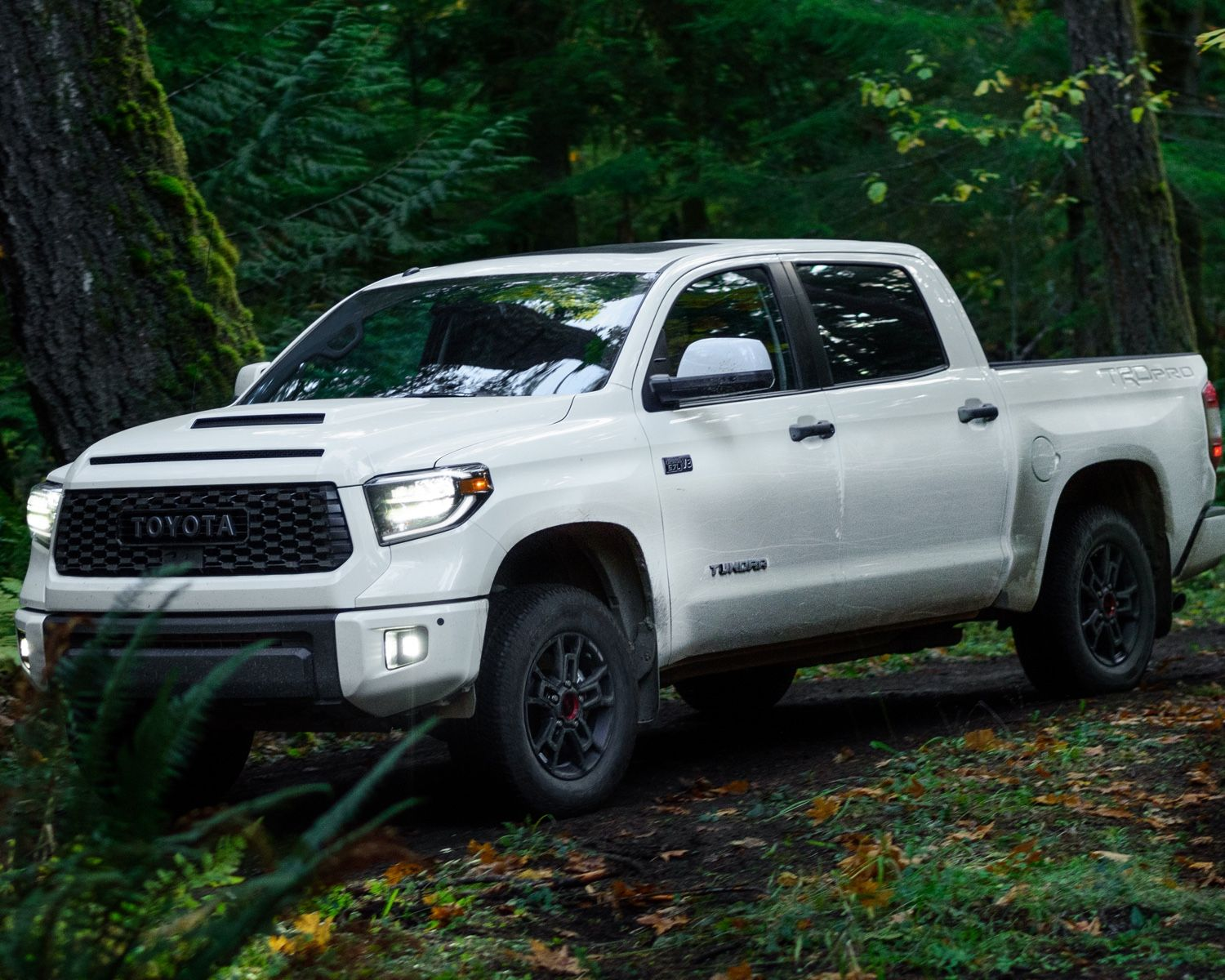 Tundra TRD Pro shown in Super White