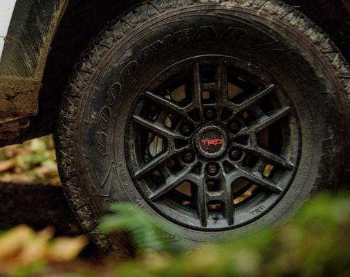 "Tacoma TRD Pro 16"" Black Alloy Wheel"