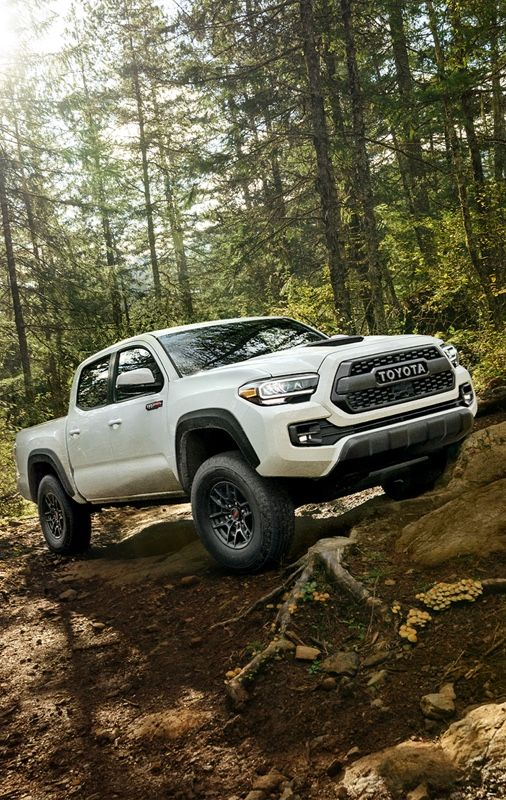 Tacoma TRD Pro shown in Super White