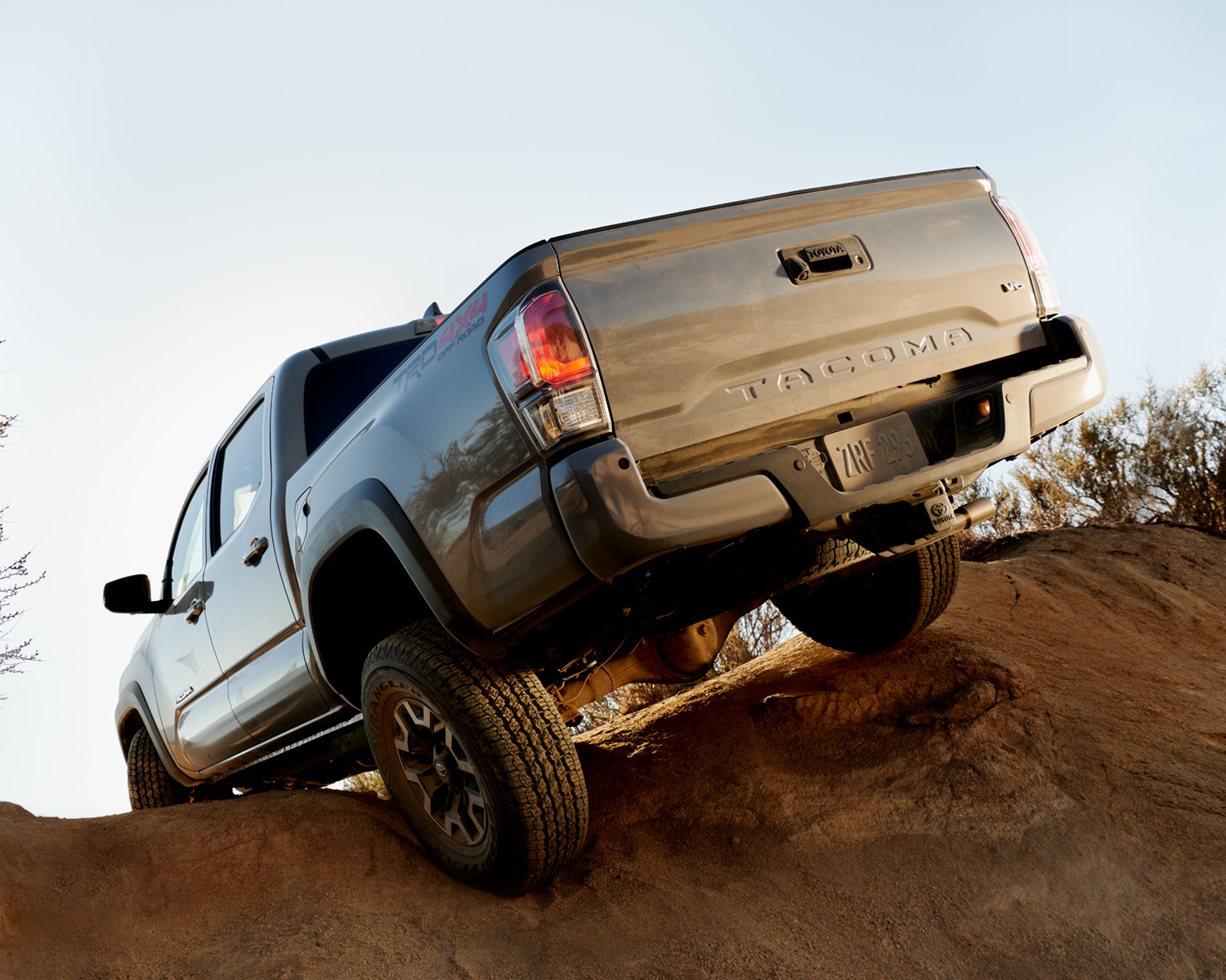 Tacoma Double Cab TRD Off Road shown in Cement