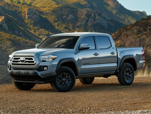 Tacoma Double Cab Trail Edition shown in Cement