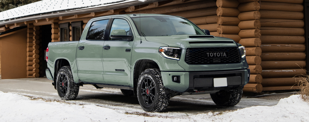 Tundra CrewMax TRD Pro shown in Lunar Rock