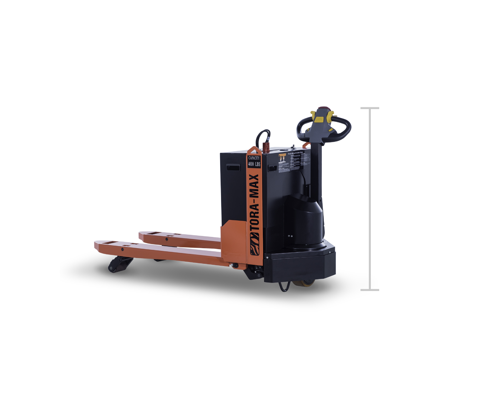 Tora-Max Electric Walkie Pallet Jack