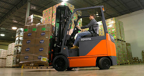 A History Of Toyota Forklifts Toyota Forklifts