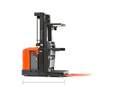 picker truck narrow aisle order picker toyota forklifts 24 voltage