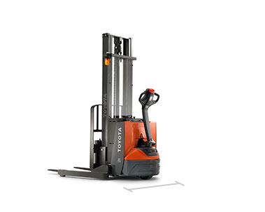 Walkie Stacker Walk Behind Forklift Toyota Forklifts
