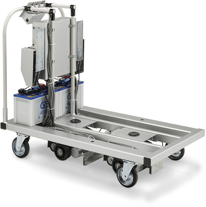 Electric L Cart Automated Guided Vehicle Agv Toyota Forklifts