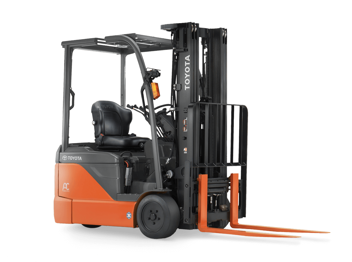 3 Wheel Electric Forklift Toyota Forklifts