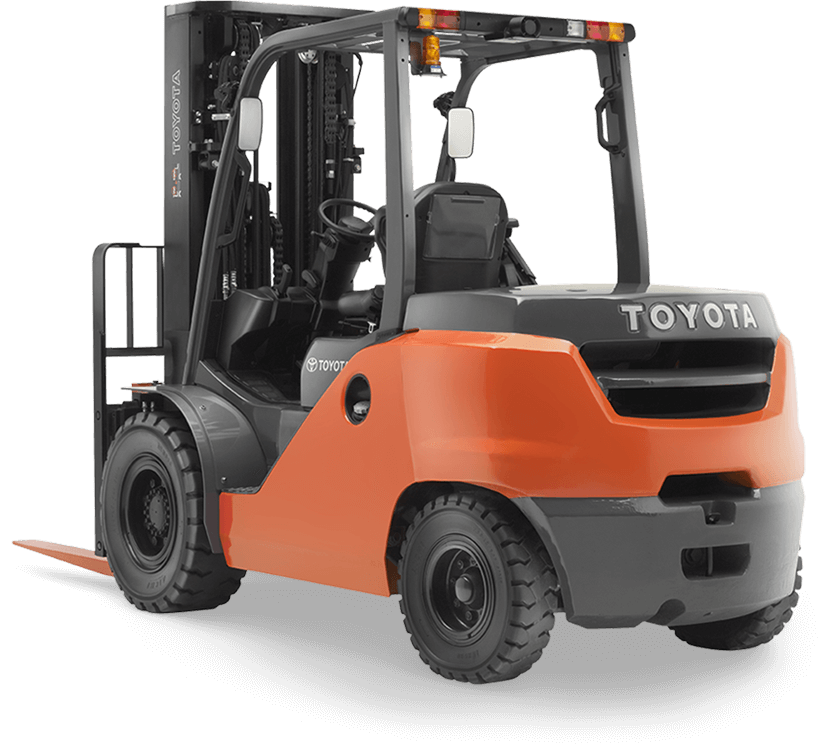 Mid Size Ic Pneumatic Forklift Outdoor Forklift Toyota Forklifts
