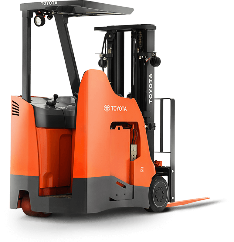 Stand Up Rider Forklift Electric Riding Forklift
