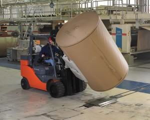 paper roll special, toyota, forklift