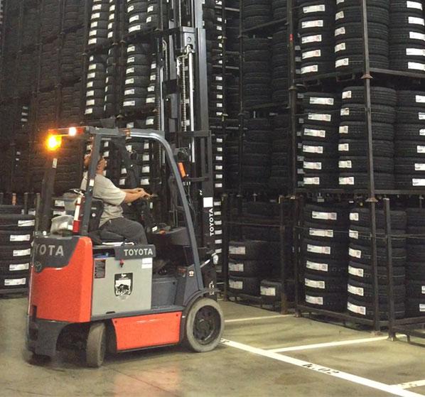 Forklift Lights and Forklift Lighting Systems | Toyota Forklifts