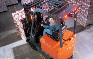 For light duty, light cycle jobs, the Toyota Core Electric forklift is the environmentally-friendly, easy to use solution.