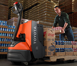 Toyota's Electric Pallet Jacks and Electric Stackers allow you to do more in less time with increased productivity in pedestrian applications.