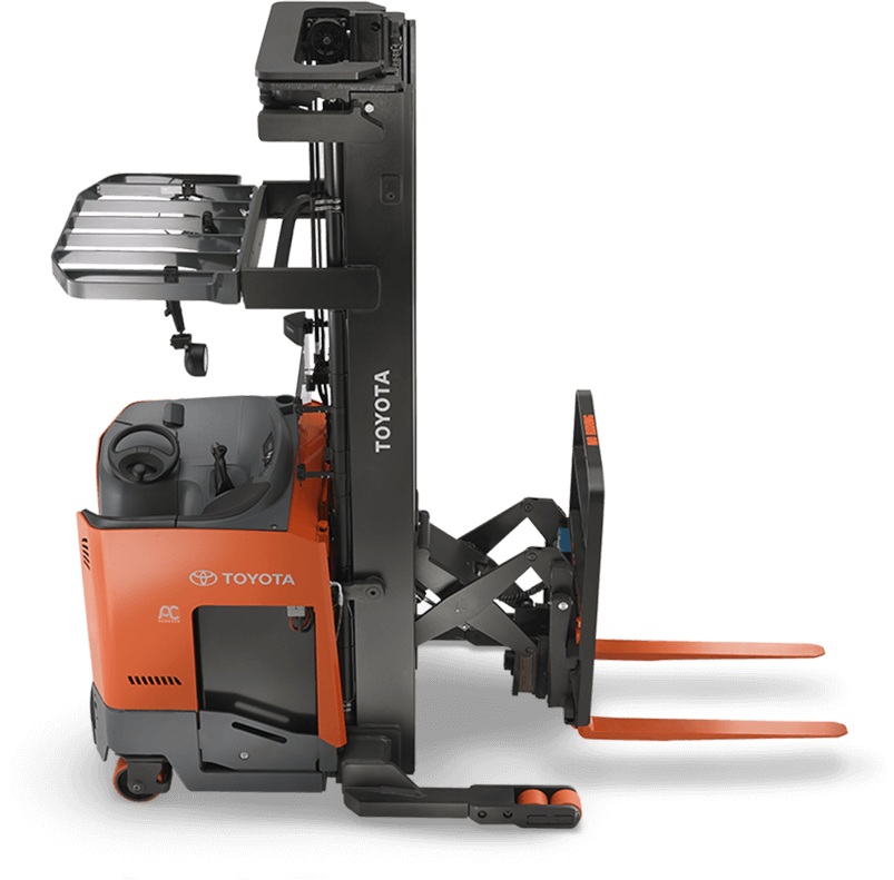 Electric Reach Truck Single Amp Double Reach Toyota Forklifts